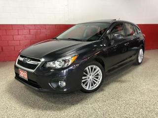 Used 2013 Subaru Impreza CVT 2.0i LIMITED NAVI CAMERA LEATHER SUNROOF PADDLE SHIFTERS for sale in North York, ON