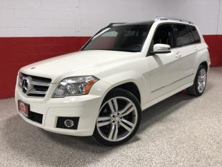 Used 2011 Mercedes-Benz GLK-Class 4MATIC 3.5L NAVIGATION PANO-ROOF CAMERA 20' WHEELS HK SOUND for sale in North York, ON