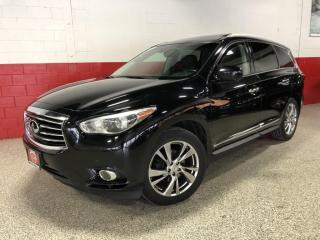 Used 2013 Infiniti JX35 AWD NAVI 360 CAMERA HEADREST DVD CLEAN CARFAX for sale in North York, ON