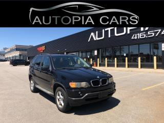 Used 2003 BMW X5 Series X5 4dr AWD 3.0i for sale in North York, ON