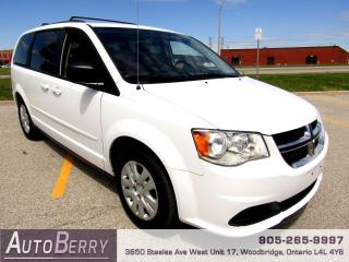 Used 2016 Dodge Grand Caravan SXT - 3.6L - STOW N GO for sale in Woodbridge, ON