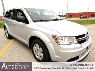 Used 2011 Dodge Journey Canada Value Pkg - 2.4L - 5 Passenger for sale in Woodbridge, ON