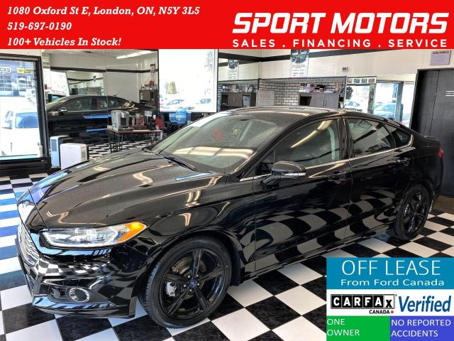 2016 Ford Fusion SE+Heated Seats+Camera+New Tires+Accident Free