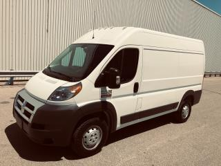 Used 2017 RAM Cargo Van Promaster 2500 Highroof for sale in Mississauga, ON
