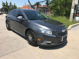 Used 2013 Chevrolet Cruze LT,LEATHER,$5400,SAFETY+3 YEARS WARRANTY INCLUDED for sale in Toronto, ON