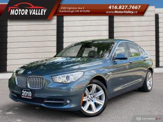 Used 2010 BMW 5 Series Gran Turismo 550i xDrive GT Like New! for sale in Scarborough, ON