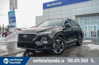 New 2020 Hyundai Santa Fe ULTIMATE/ADAPTIVECRUISE/PANOROOF/NAV/COOLEDSEATS for sale in Edmonton, AB