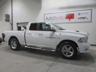 Used 2012 RAM 1500 Sport HEMI **MAGS 20 POUCES**SIEGES CHAU for sale in Mirabel, QC