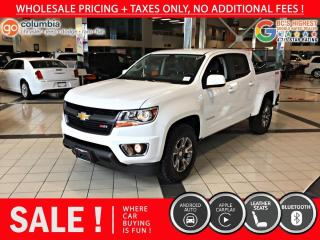 Used 2020 Chevrolet Colorado 4WD Z71 4x4 - No Accident / Local for sale in Richmond, BC