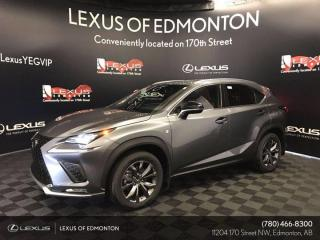 New 2020 Lexus NX 300 F Sport Series 2 for sale in Edmonton, AB