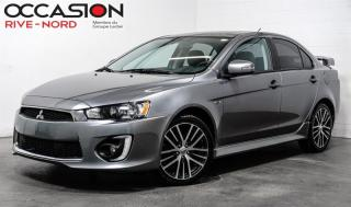 Used 2016 Mitsubishi Lancer GTS 2.4 TOIT.OUVRANT+CAM.RECUL+SIEGES.CHAUFFANTS for sale in Boisbriand, QC