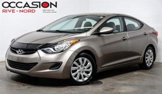 Used 2013 Hyundai Elantra GL A/C+GR.ELECTRIQUE for sale in Boisbriand, QC