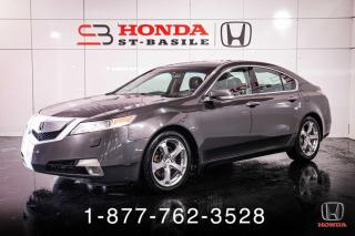 Used 2009 Acura TL TL + 3.7L + AWD + NAVI + WOW! for sale in St-Basile-le-Grand, QC