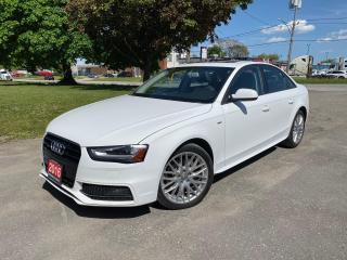 Used 2016 Audi A4 S-LINE | QUATTRO | SUNROOF | PUSH BUTTON START for sale in Brampton, ON