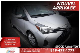Used 2015 Toyota Yaris LE| CLIMATISATION| BAS KILO for sale in Drummondville, QC