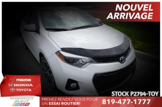 Used 2015 Toyota Corolla SPORT| MANUELLE| 1 PROPRIO for sale in Drummondville, QC
