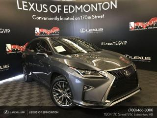 Used 2019 Lexus RX 350 F Sport Series 3 for sale in Edmonton, AB