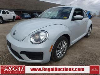 Used 2017 Volkswagen Beetle CLASSIC 2D COUPE TSI AT 1.8L for sale in Calgary, AB