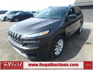 Used 2014 Jeep Cherokee Limited 4D Utility AWD 3.2L for sale in Calgary, AB