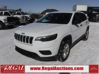 Used 2019 Jeep Cherokee Sport 4D Utility 4WD 3.2L for sale in Calgary, AB