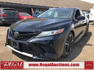 Used 2019 Toyota CAMRY XSE 4D SEDAN 2.5L for sale in Calgary, AB
