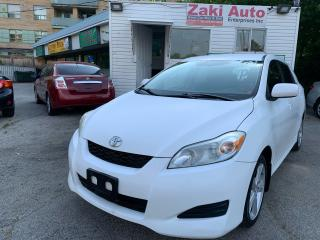 Used 2009 Toyota Matrix XR Safety Certifiction included Asking Price for sale in Toronto, ON