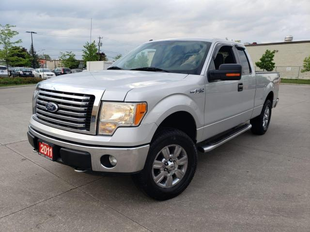 2011 Ford F-150 XLT, 4X4, Auto, 4/Y warranty available.