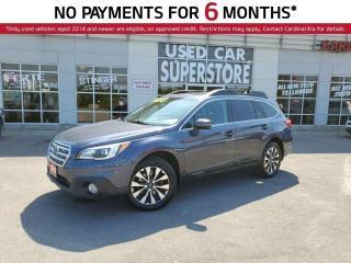 Used 2017 Subaru Outback 2.5i Limited, AWD, Sunroof, Leather, NAV, Memory S for sale in Niagara Falls, ON