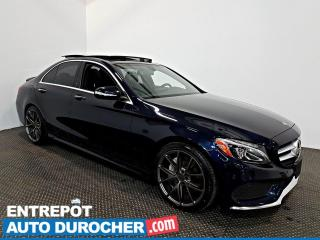 Used 2015 Mercedes-Benz C-Class C 400 AWD NAVIGATION - Toit Ouvrant - A/C - CUIR for sale in Laval, QC