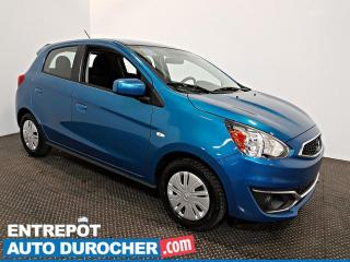 Used 2019 Mitsubishi Mirage AIR CLIMATISÉ - Caméra de Recul for sale in Laval, QC