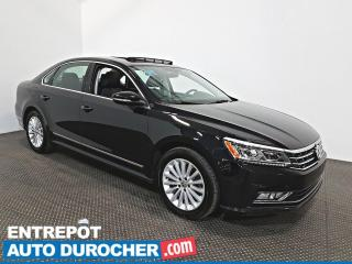 Used 2017 Volkswagen Passat Comfortline NAVIGATION - Toit Ouvrant - CUIR for sale in Laval, QC