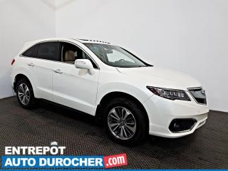 Used 2017 Acura RDX Elite Pkg AWD NAVIGATION - Toit Ouvrant - A/C - for sale in Laval, QC