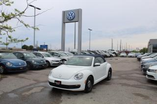 Used 2016 Volkswagen Beetle Convertible 1.8TSI Classic AUTO for sale in Whitby, ON