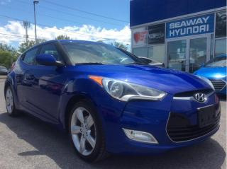 Used 2013 Hyundai Veloster Automatic - Bluetooth - Backup Camera for sale in Cornwall, ON