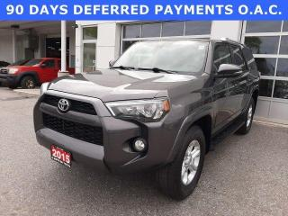 Used 2016 Toyota 4Runner 4WD 4DR V6 SR5 for sale in North Bay, ON