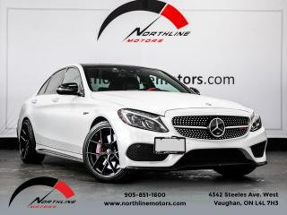 Used 2016 Mercedes-Benz C-Class C450 AMG 4MATIC|Matte White|Navigation|Carbon Fiber|Exhaust for sale in Vaughan, ON