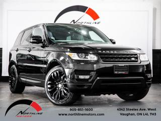 Used 2014 Land Rover Range Rover Sport HSE|Navigation|Pano Roof|Meridian Sound|Heated Cooled Lthr for sale in Vaughan, ON