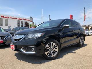 Used 2016 Acura RDX Elite Pkg Leather - Sunroof - Navi - Rear camera for sale in Mississauga, ON