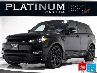 Used 2016 Land Rover Range Rover Sport HST LE,AWD,V6,SUPPERGHARGED,NAV,CAMERA,PANO,H.U.D, for sale in Toronto, ON