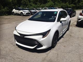 New 2020 Toyota Corolla 2W 4CY H/BACK Corolla Hatchback CVT for sale in Mississauga, ON