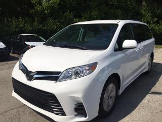 New 2020 Toyota Sienna LE V6 8-PASS Sienna LE FWD 8-Pass for sale in Mississauga, ON