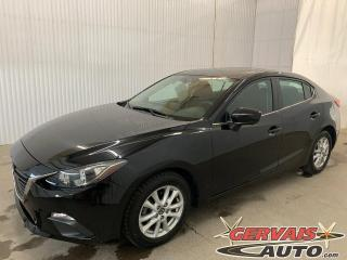 Used 2016 Mazda MAZDA3 GS GPS Toit ouvrant Caméra Bluetooth Mags for sale in Trois-Rivières, QC