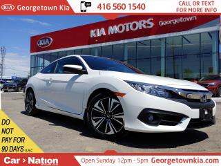 Used 2016 Honda Civic COUPE TURBO |1 OWNER | ACCIDENT FREE |LIKE NEW | ROOF| for sale in Georgetown, ON
