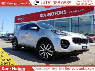Used 2018 Kia Sportage EX AWD | LEATHER| BU CAM | BLUTOOTH | HTD STEERING for sale in Georgetown, ON
