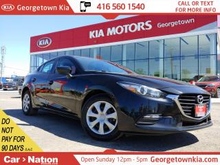 Used 2018 Mazda MAZDA3 GX | PUSH START | BLU TOOTH | BU CAM | NAV READY for sale in Georgetown, ON