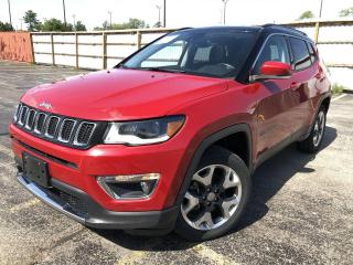 Used 2018 Jeep Compass Limited 4WD for sale in Cayuga, ON