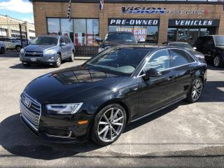 Used 2017 Audi A4 4dr Sdn Auto Technik quattro-360 CAMERA-ONE OWNER for sale in North York, ON