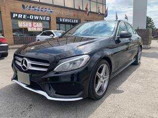 Used 2016 Mercedes-Benz C-Class 4dr Sdn C 300 4MATIC AMG APP/ NAVIGATION for sale in North York, ON