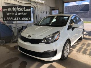 Used 2016 Kia Rio 4DR SDN AUTO LX+ for sale in St-Raymond, QC