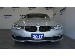 Used 2017 BMW 3 Series xDrive   NAVI   DIESEL   LEATHER   SUNROOF for sale in Brantford, ON